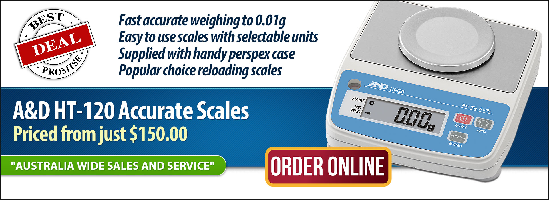 HT Scales on Sale